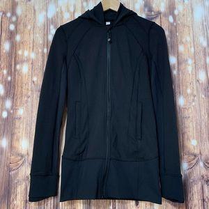 EUC Lululemon Daily Practice Jacket Black Size 6